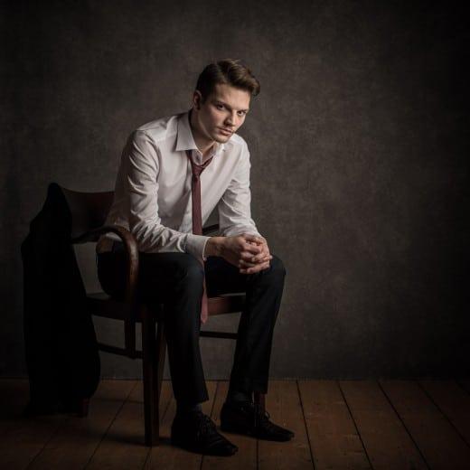 Portrait mann Studio